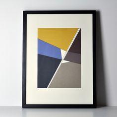"""Limited print """"Marseille yellow"""" – Haferkorn & Sauerbrey"""