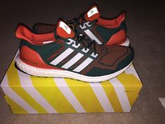 newest 478db c1ab5 The Miami Hurricanes Got Laced With Their Own adidas Ultra Boosts