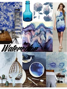 VALONTALO: interior trends 2015 / #watercolour
