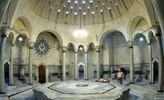 I had been to a hammam before, but this was the real deal. Visiting a a Turkish Hammam in Istanbul where people have been bathing for over 500 years. Turkish Bath House, Istanbul Travel, Islam, Shore Excursions, Most Beautiful Cities, Travel Themes, Istanbul Turkey, Hot Springs, Places To Visit