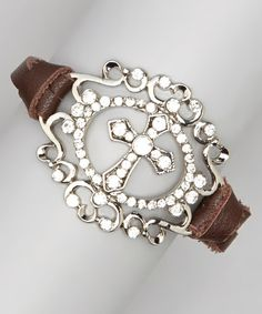 Turquoise & Silver Brown Daisy Bracelet   Daily deals for moms, babies and kids