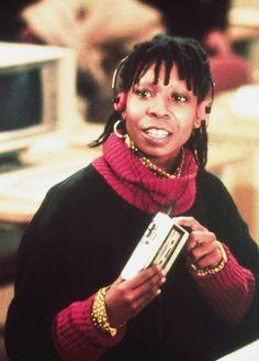 Whoopi Goldberg in Jumpin' Jack Flash, 1986 Black Actresses, Actors & Actresses, Beautiful Celebrities, Beautiful People, I Look To You, Linda Evans, Whoopi Goldberg, Vintage Black Glamour, Just Style