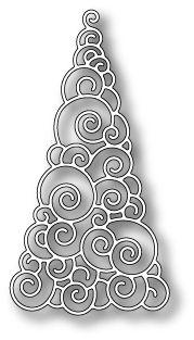 Karten-Kunst - Stempel- und Scrapbook-Shop - Memory Box Stanzschablone - Winterland Tree