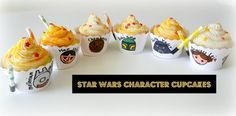 "Sugar Swings! Serve Some: Cute Star Wars Cupcakes - Cupcake Couture Blog Party ""Back to School"""