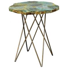 Malachite Side Table @Zinc_Door