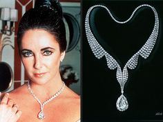 Famous jewelry pieces and stories, from Harry Winston's huge 101 carat rock, named the Winston Legacy, to Elizabeth Taylor's 69 carat gift from Richard Burton...ladies, give your husband a hint, buy a dog and name it Harry Winston