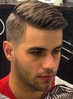 men hairstyle, short