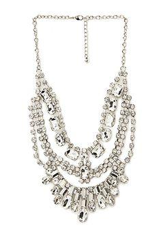 Opulent Statement Necklace | FOREVER21 - 1000106522