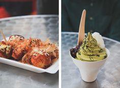 japanese tastiness - takoyaki & match soft serve