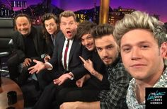 One Direction @ Late Late Show