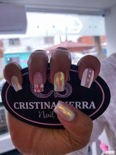French Manicure Designs, Short Nail Designs, Gel Nail Polish, Gel Nails, Fall Acrylic Nails, Manicure Tips, Gift Cake, Elegant Nails, Short Nails