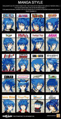 Manga Style Meme by diabolikal-lily on deviantART