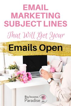 You have to create Amazing Email Marketing Subject Lines if you want to increase your open rate. Check TOP subject lines that will change your email game. Email Marketing Design, Social Media Marketing Business, Email Marketing Strategy, Marketing Ideas, Email Service Provider, Email Subject Lines, Social Media Calendar, Best Email, Job Opening