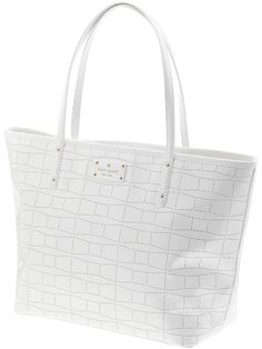 Kate Spade New York Signature Spade Punched Small Coal
