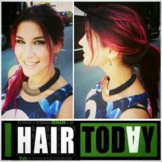 Charlotte Wessels' hair (from band Delain) I want.