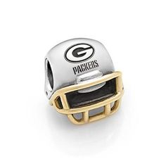 Pandora NFL Green Bay Packers Two-Tone Helmet Charm - Item 19424092 | REEDS Jewelers
