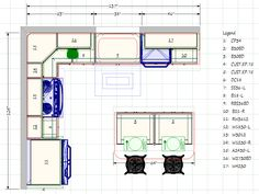 Kitchen Floor Plan kitchen blueprints floor plan | cabinet planner-screenshots