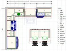 kitchen blueprints floor plan | Kitchen Gallery, 69 Lafayette Road, North Hampton, NH 03862 (603) 964 ...