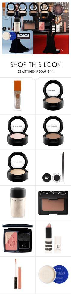 """Taylor Swift BRITs Makeup Tutorial"" by oroartye-1 on Polyvore featuring beauty, Elie Saab, Rimmel, MAC Cosmetics, NARS Cosmetics, Christian Dior, Topshop, Illamasqua and BBrowBar"