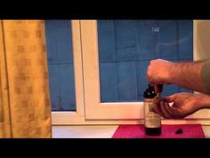 Don't Have a Corkscrew? Here's How to Open a Wine Bottle Using a Cork and Super Glue    If you have a corked bottle that needs opening, but no corkscrew, this video on how to open a wine bottle using a cork and glue can help.