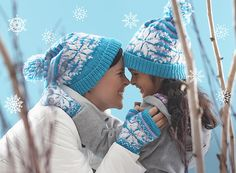The classic fair isle Snowflake Hat and Mittens set is a rewarding knit project that displays beautiful colorwork. This is the perfect pattern to customize to your heart's content—in adult or child sizes, as full or fingerless mitts, and with 38 shades of Patons Astra to choose from, nearly the entire family can enjoy their own personalized accessory set to keep them warm through the winter months.