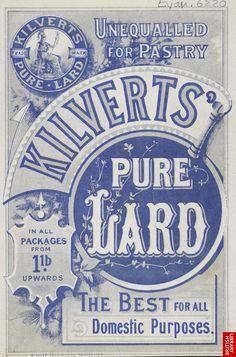 Advert For Kilvert's Lard