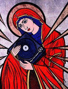 Santa Protectora de los vinilos, los tocadiscos y de los que los amamos. Gracias por cuidarnos