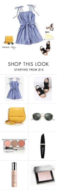 """Shein"" by tawnee-tnt ❤ liked on Polyvore featuring Nancy Gonzalez, Ray-Ban, Chantecaille, Max Factor, By Terry and Burberry"