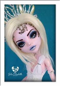 Check out this item in my Etsy shop https://www.etsy.com/au/listing/528106279/snow-queen-ooak-custom-costumed-monster