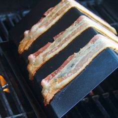 Sweet and savory candied bacon is the ultimate dish for an early tailgate. Grill the bacon for extra-smoky flavor.