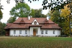 Polish Manor Houses - Polskie dworki Polska Kielbasa, Manor Houses, Country Houses, Krakow, Eastern Europe, Historic Homes, Monuments, Country Living, Cottages