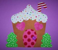 Fabric Applique TEMPLATE PATTERN Only Gingerbread by etsykim