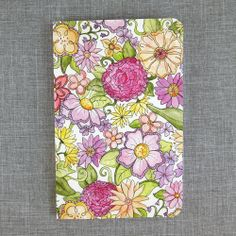 Water Color Floral Journal // Alexis Mattox Design