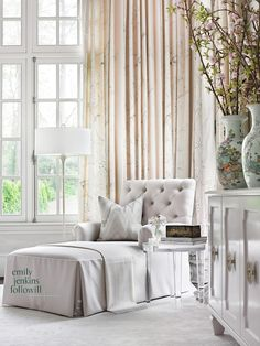 Emily Followill Photography - bedrooms - Chinois Palais Blush Conch Fabric, Bargello Fabric, pillow, mary mcdonald fabric, chinois palais, chinois palais blush conch,