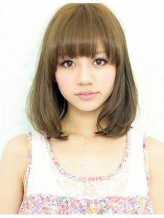 アフロート ジャパン AFLOAT JAPAN ふわっと可愛いオシャレで黒髪でも似合うボブ☆
