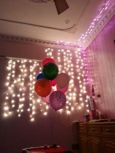 Perfect birthday celebration