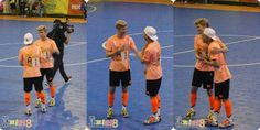 Luhan, Xiumin and Minho in MBC's Idol Futsal Championship Blog Update #4