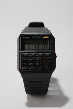 I always borrow my boyfriend's calculator watch... now its time to get my own
