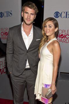 Liam Hemsworth & Milery Cyrus...Celebrity Couples