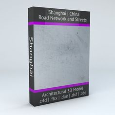 Shanghai Road Network and Streets | 3D model