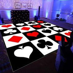 Pista de dança - Casino 3x3 metros
