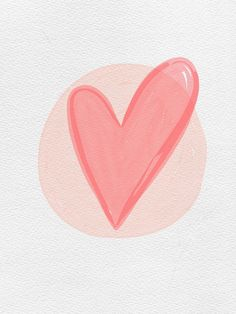 Watercolour Heart IPad Background by Miss Sammie Designs