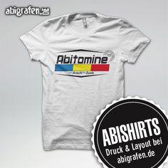 #Abishirts bedrucken mit individuellem #Abimotto bei abigrafen.de. T-Shirts, Polo-Shirts, Fairtrade-Shirts