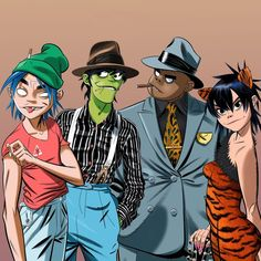 Here is a place where I will post all of the official Gorillaz art. I claim none of this art and it is all created by Jamie Hewlett. I will NOT be posting any fan art (including edits). Art Gorillaz, Murdoc Gorillaz, Gorillaz Noodle, Jamie Hewlett Art, Monkeys Band, Tumbrl Girls, Damon Albarn, Arte Sketchbook, Art Archive