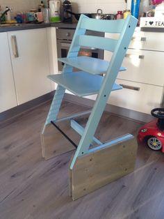 Kinderstoel voor aan bartafel