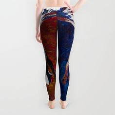 Fly With Me Duo Only Print Edition Leggings by LorenzoArs | Society6
