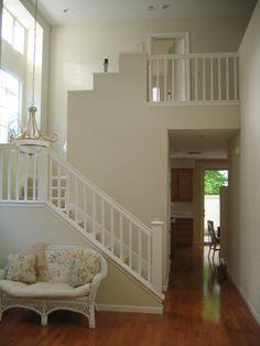 "Benjamin Moore paint color in ""Putnam Ivory""My living room color"