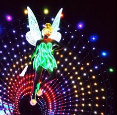 Paint the Night parade premieres at Hong Kong Disneyland illuminating the park with fully LED, interactive entertainment - Tinker Bell