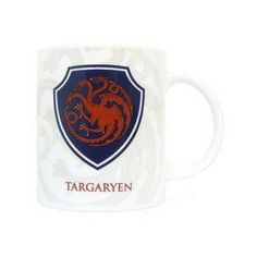 Game Of Thrones - Shield Targaryen ceramic mug