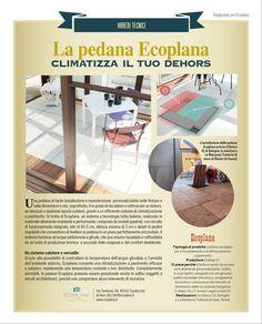 Ecoplana sullo speciale di Bargiornale di Aprile, sugli arredi tecnici per i locali. Chart